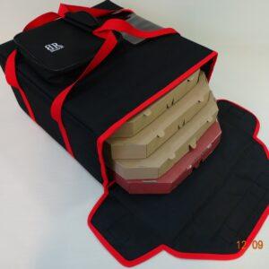 Torba do pizzy termoizolacyjna na 4 kartony 45x45cm Magnesy